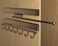 Oil-Rubbed-Bronze-Valet-Rod-and-Sliding-Belt-Rack-on-Secret-Cabinet