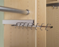 Chrome-Sliding-Tie-Rack
