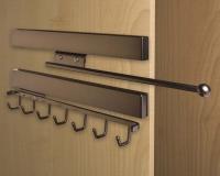 Oil-Rubbed-Bronze-Valet-Rod-and-Sliding-Belt-Rack-on-Secret-Cabinet