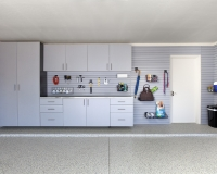 Silver-Cabinets-Stainless-Counter-Grey-Slatwall-Grab-n-Go-Barker-2012