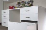 White-Workbench-with-Drawers-and-Upper-Cab-Open