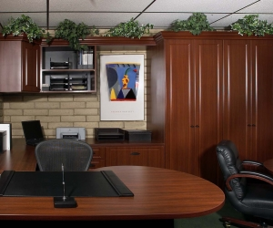 Mahogany-Raised-Panel-Brick-Office-Swensen-Straight