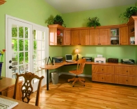 Candlelight-Office-in-Raised-Panel-Grn-Walls-French-Door-Eric-Customer