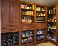 Warm-Cognac-Pantry-in-Premier-with-Wine-Spice-Basket-Slide-Outs-Neil-2013