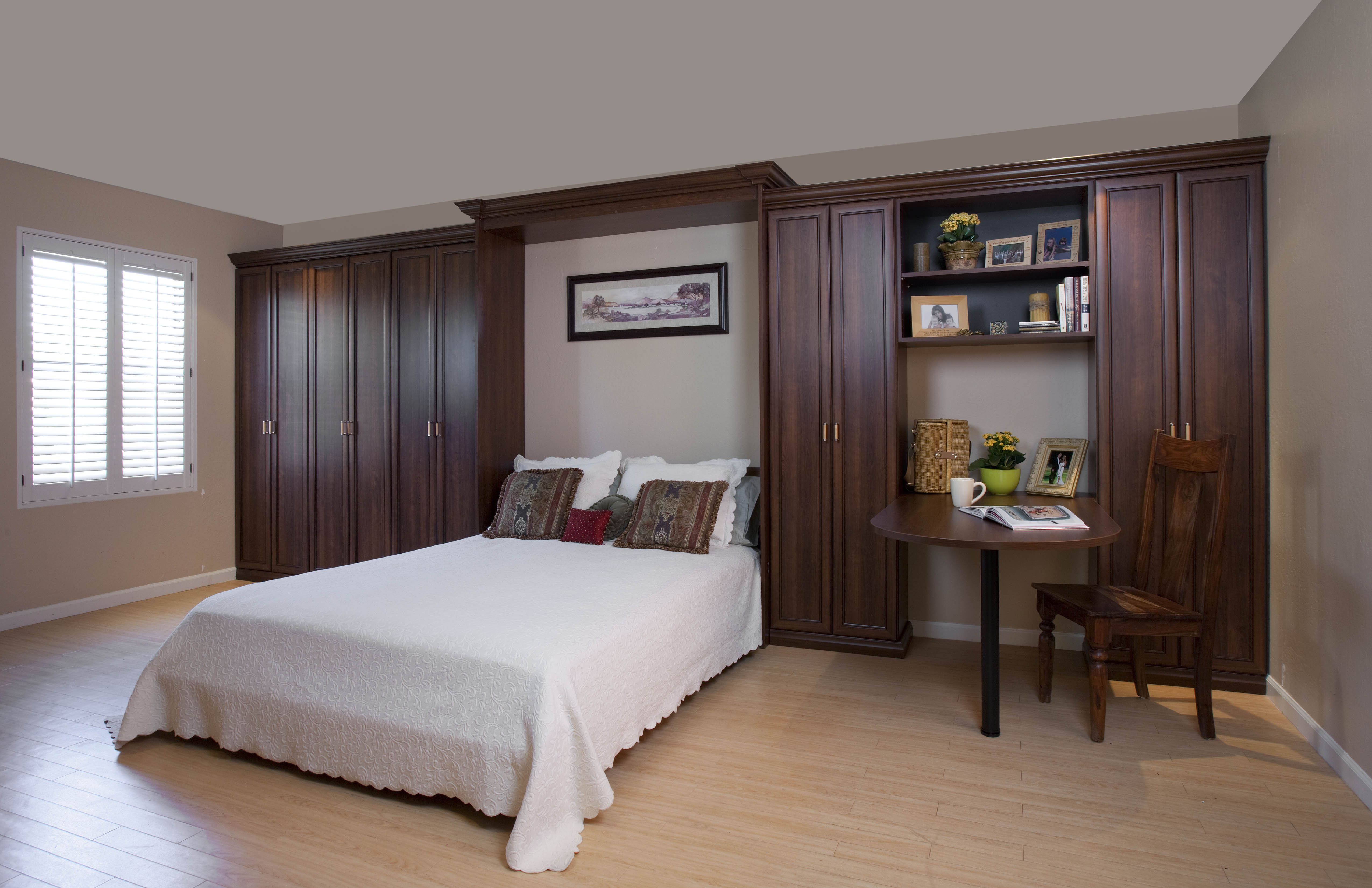 Murphy Beds In Michigan Wall Beds  Custom Cabinets - Custom bedroom cabinets