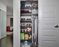 Chocolate-Pear-Shelves-in-Utility-Closet