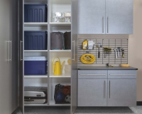 Pewter-Cabinets-Ebony-Workbench-Gridwall-Smoke-Floor-Two-Doors-Open-Feb-2013