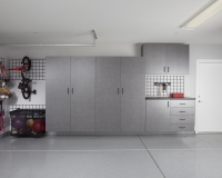 Pewter-Garage-with-Workbench-Gridwall-Kid-Bikes-Large-Ball-Net-2012