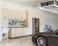 Maple-Garage-with-Work-Bench-frig-overhead-Porsche-2012