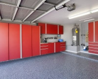 Red-Cabinets-w-Stainless-Workbench-Blue-Ice-Floor-Grey-Slatwall-Angle-Aug-2013