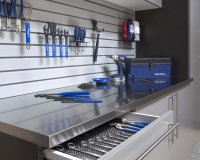 Stainless-Workbench-Open-Drawer-Gray-Slatwall-Feb-2013