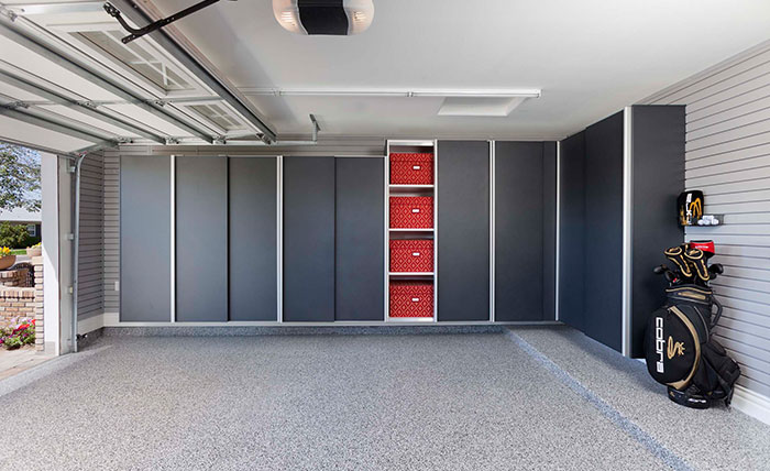 garage cabinets   custom clsoets and garages   Milford, Michigan