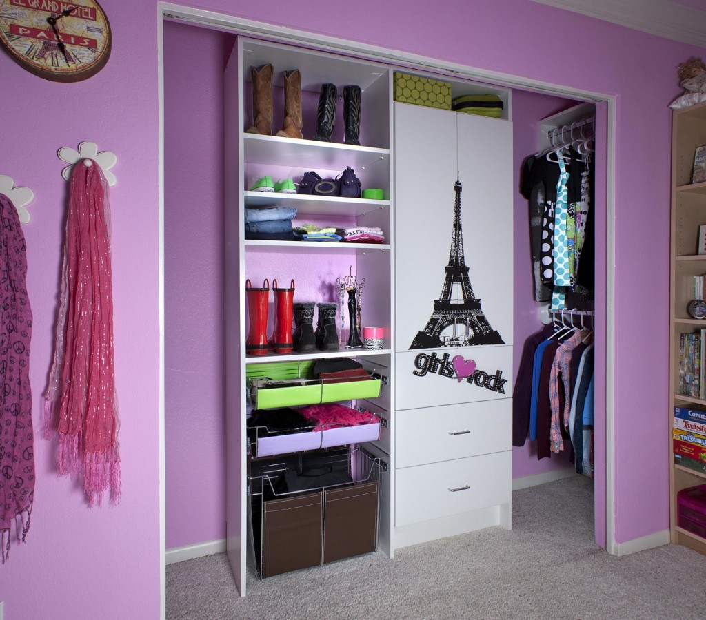 Kids Closet Organization Systems