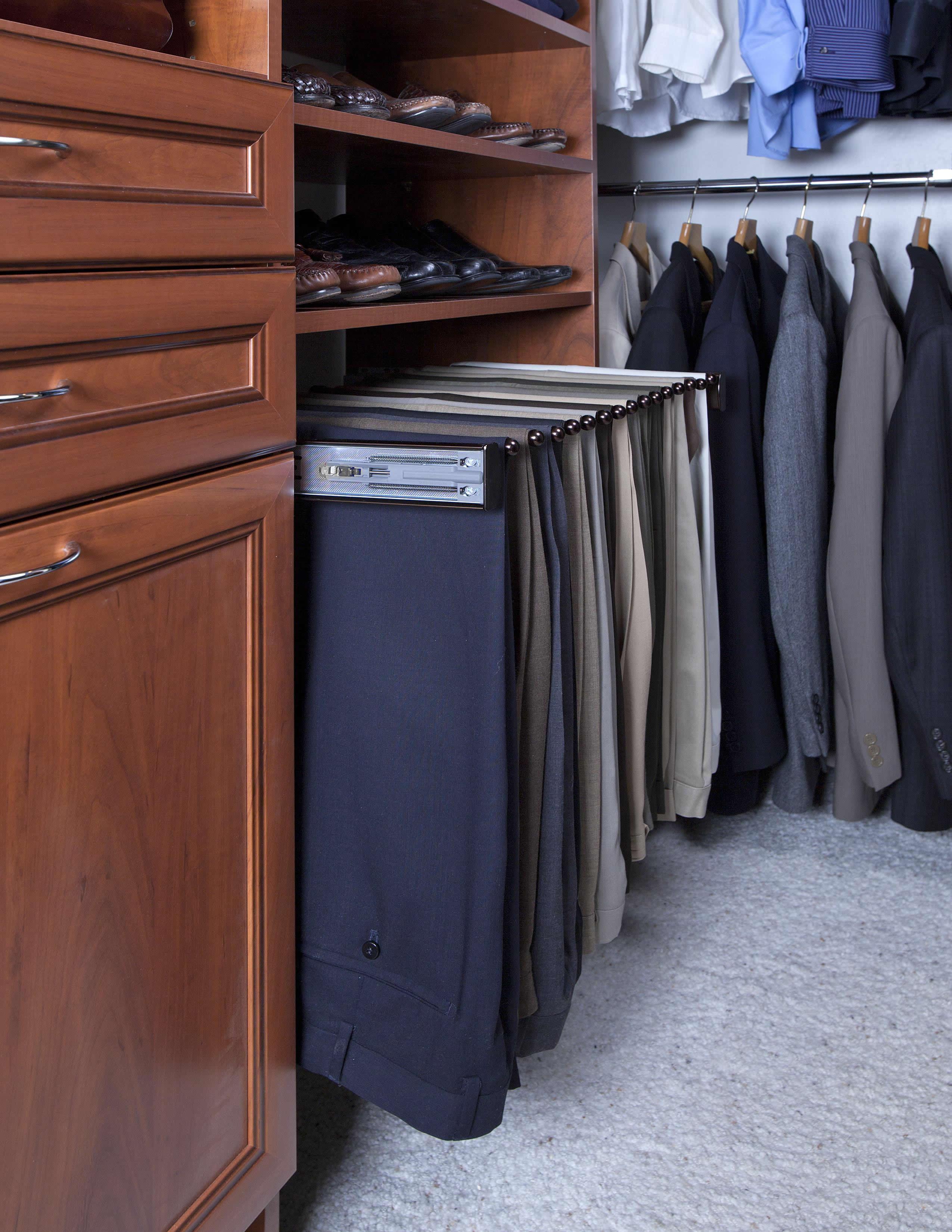 Pants Rack Custom Closet And Garage