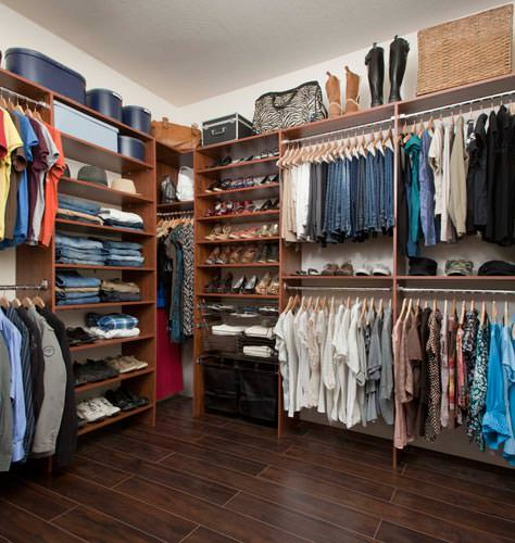 premium hanging rods for custom closets