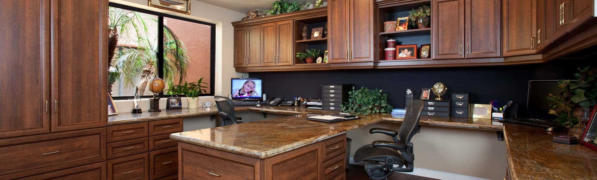 Bon Home Office Cabinets Office Organization Design In Michigan   Premier  Designs Home Office .