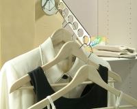 Chrome-Laundry-Valet-with-Clothes