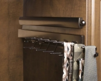 Oil-Rubbed-Bronze-Valet-Rod-and-Tie-Rack-with-Ties