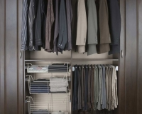 Satin-Nickel-Wire-Slide-Out-Baskets-Hanging-Rod-Pant-Rack