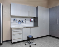 Silver-next-to-Pewter-Stianless-Workbench-with-Gray-Slatwall-fewer-props-Smoke-Floor-Feb-2013