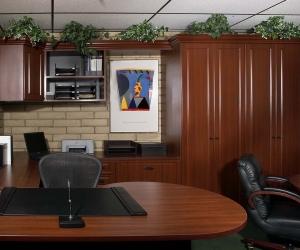 Mahogany-Raised-Panel-Brick-Office-Swensen-Straight