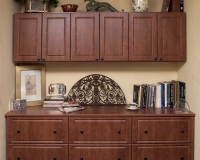 Warm-Cognac-Raised-Panel-Credensa-with-Uppers-Farca