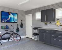 Granite-Workbench-Stainless-Counter-Grey-Slatwall-with-TV-HandiNet-Bike-Smoke-Floor-Arcadia-2013