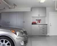 Pewter-Cabinets-with-Workbench-Car-Straight-Shot-2012