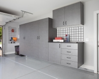 Pewter-Garage-with-Workbench-Angle-2012