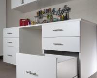 White-Workbench-with-Drawers-Open