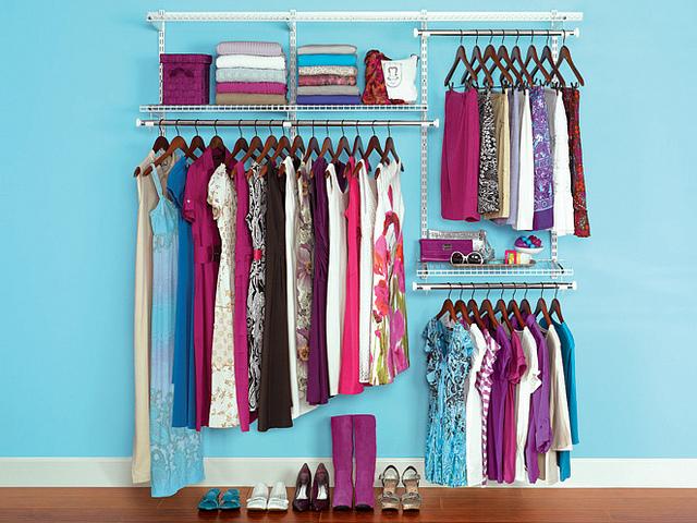 Custom Closet coloration